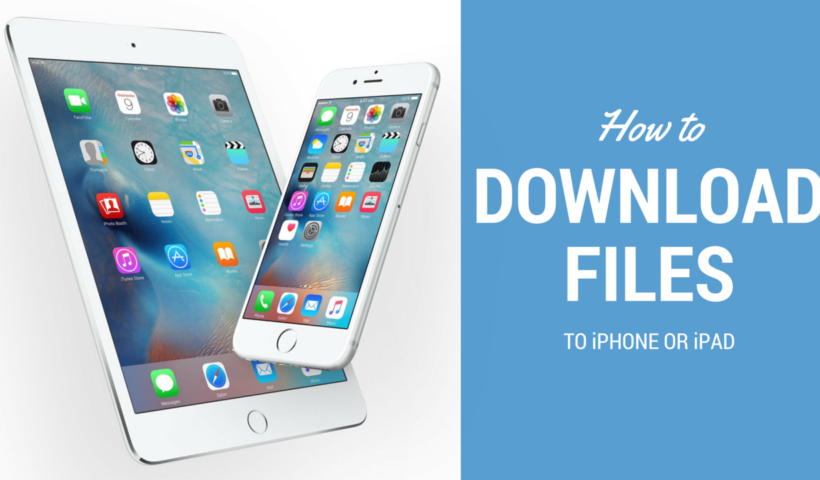 How to Download Files in iPhone Devices