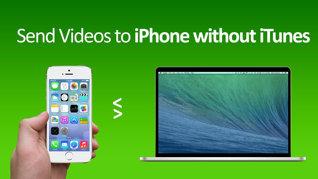 How to Transfer Files from Computer to iPhone without iTunes